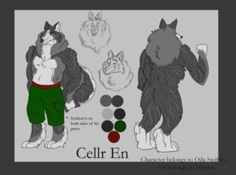 Commission: Cellr En Reference Sheet