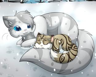 LUtT - Sleeping in the Snow