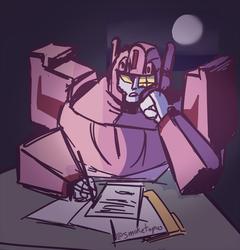 Late Night Paperwork
