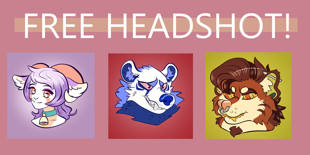Featured image: FREE HEADSHOT! (Please read rules.)