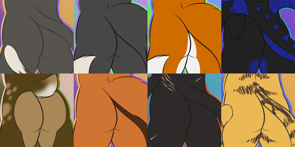 Most recent image: Super Mega Awesome Butt Collage - Commissions