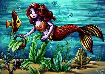 underwater harvest