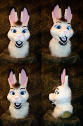 Whiteshadow Hare Head