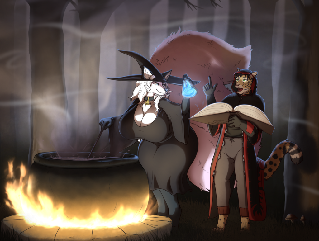 [Comm] Witchcraft and Wizardry in the Forest