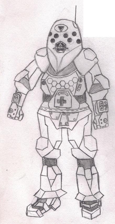 "DE ""Fervor"" Demolition/Heavy Gunner"