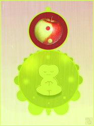 Huevember 29: Yin Yang Apple