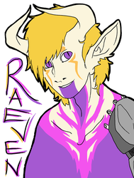 Raeven by CGeez