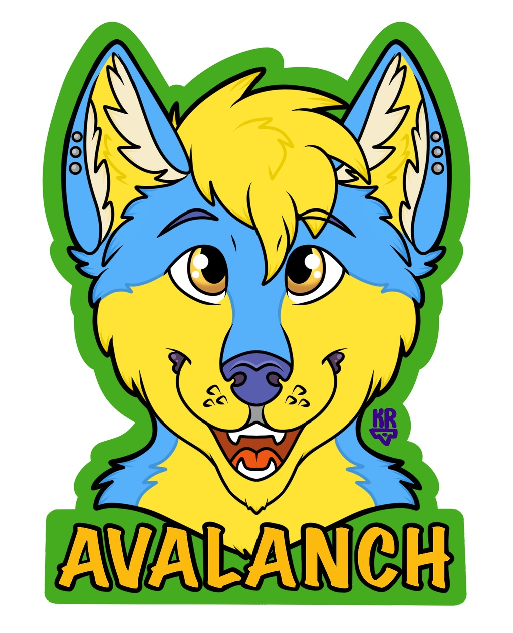 Avalanch BLFC Pickup Badge
