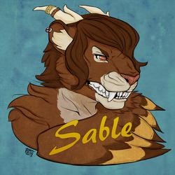 Sable - Badge