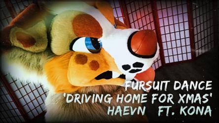 Fursuit Dance / Kona / 'Driving Home For Christmas' //