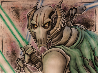 Watercolor: General Grievous
