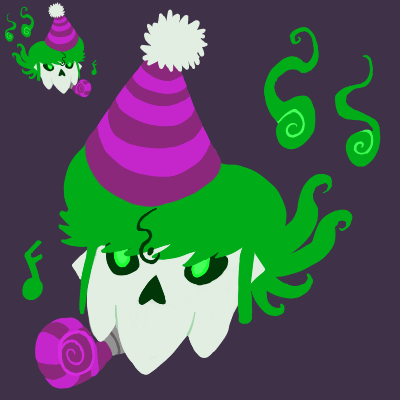 Splat Hat Icon