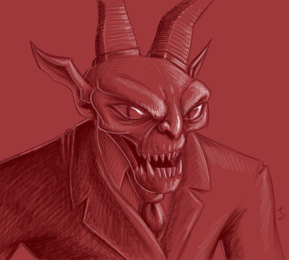 Drawlloween #2: Devil