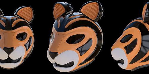 Tiger Helmet Concept
