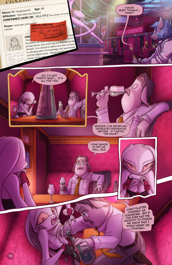 Most recent image: Dreamkeepers Saga page 388