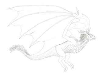Commission #59 - Taros V2 (sketch, 6 of 7)