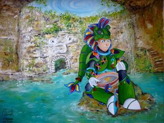 [Collab] Quetzal Man