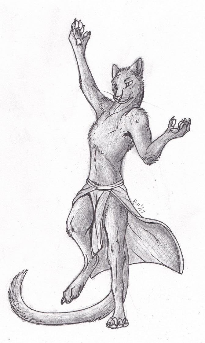 Panther Sketch