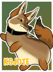 Puff Badge: Kojote
