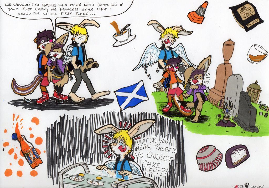 Glasgow Trip - Sketch Page