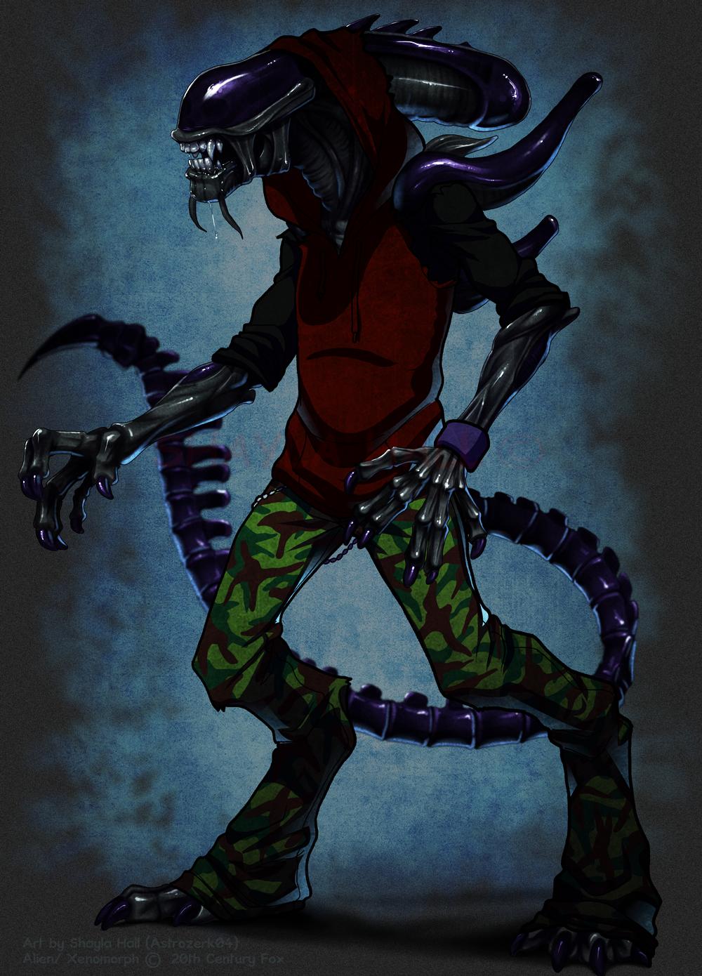 Aliens Don't Wear Clothes
