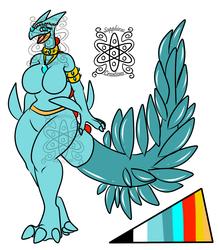 Female Shiny Sceptile +Design+ (ON HOLD)