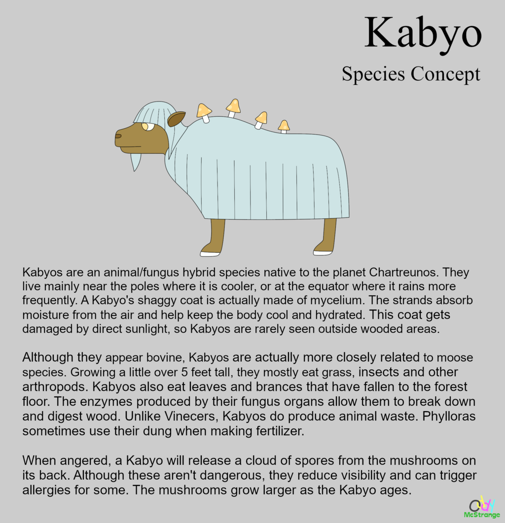 Kabyo - Species Concept