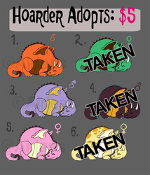 Hoarder Adoptables!