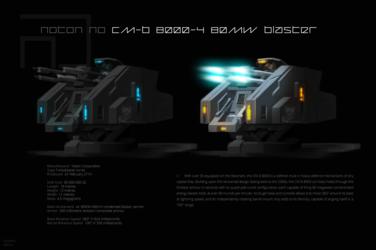 Noton NO CM-B 8000-4 80MW blaster turret