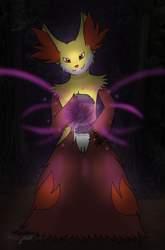 Delphox - Shadow Ball