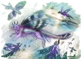 Flying Fish creature