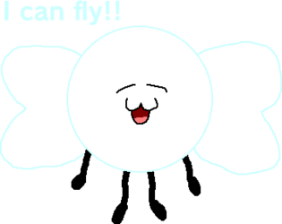 Azzy can fly