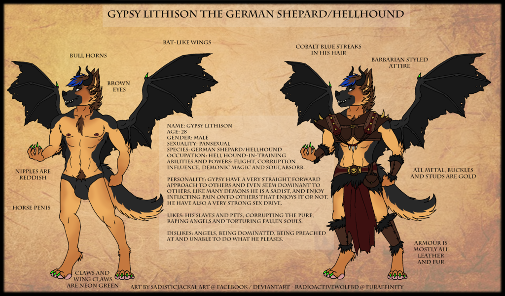 Commission - Gypsy Lithison Reference