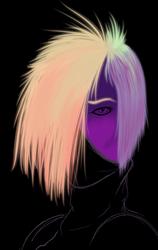 Purple Stare