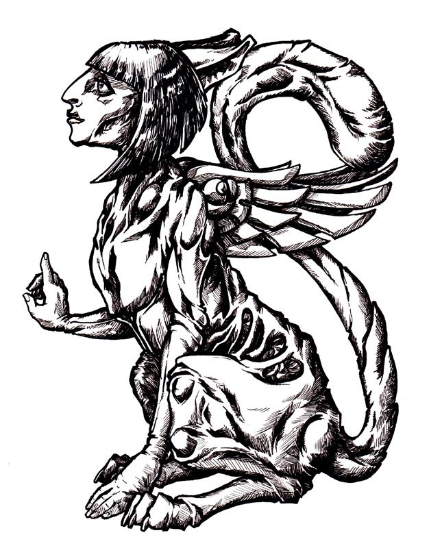Deco Sphinx