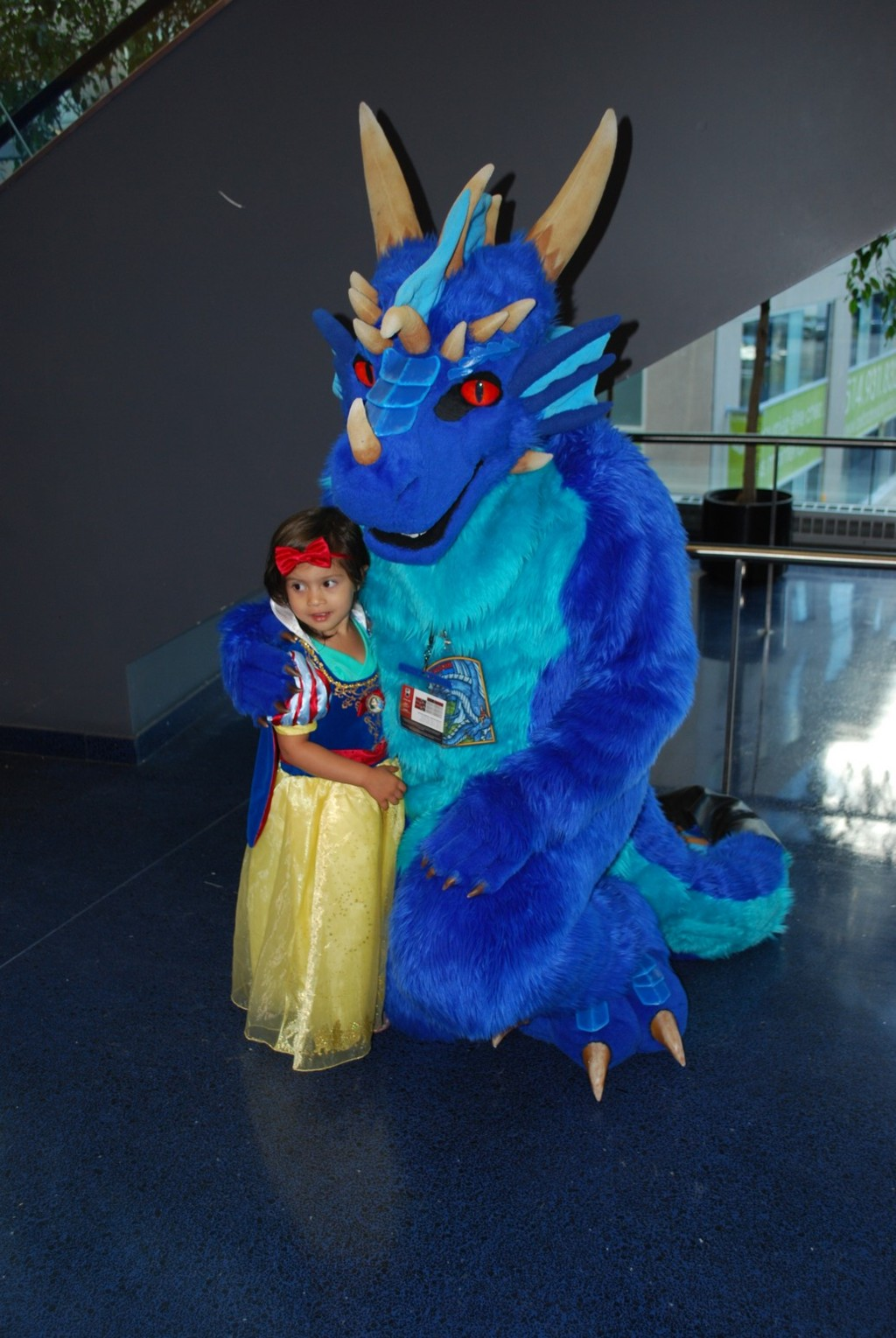 Snow White and the Dragon
