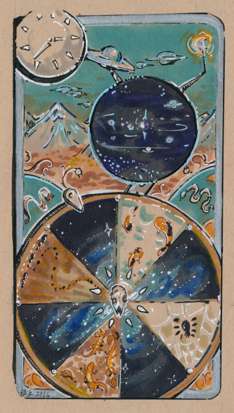 tarot card - wheel of fortune