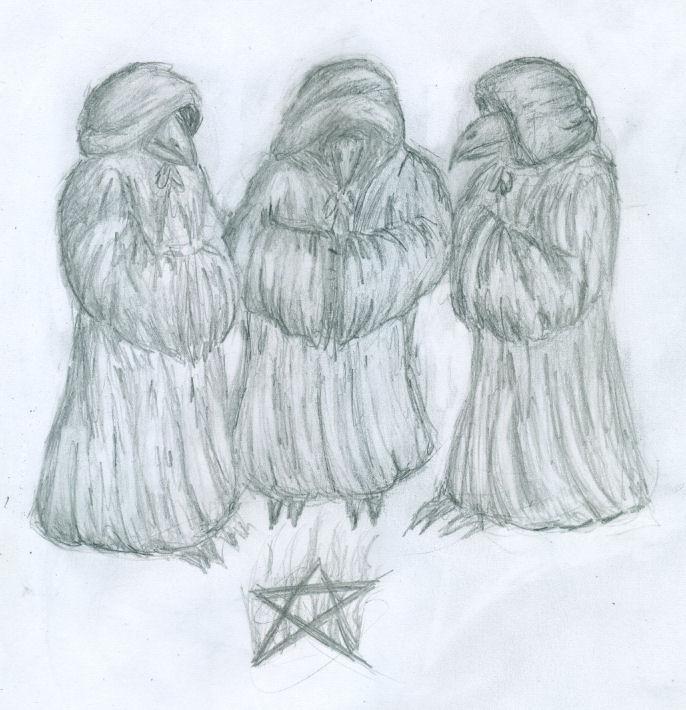 "Goretober - day 25 - Ritual ""trick"""