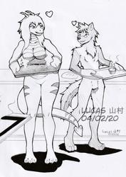 Comm - Baking couple