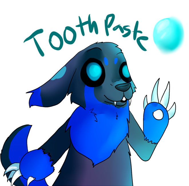 Toothpaste Badge
