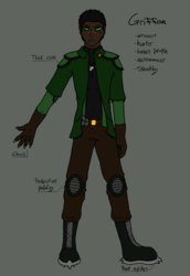 Griffon outfit/human updated