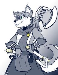 Axe Wolf Returns! (Nioh 2)