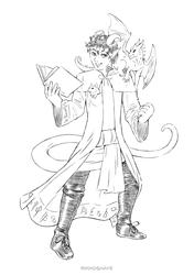 Mordius Ledwinthe Tiefling Warlock