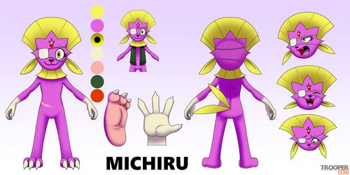 Michiru Reference (SFW)