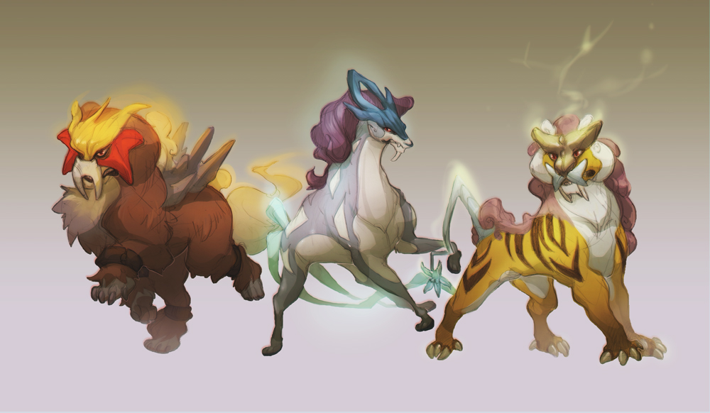 Three Beasts