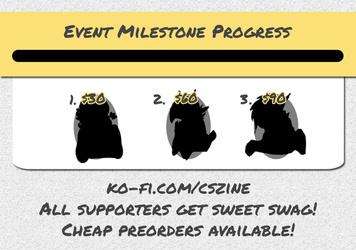 CSZ Issue 6 Event 3 Milestones
