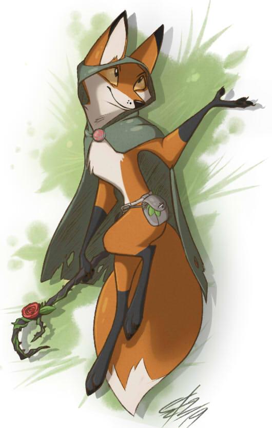 Simple Foxy Druid