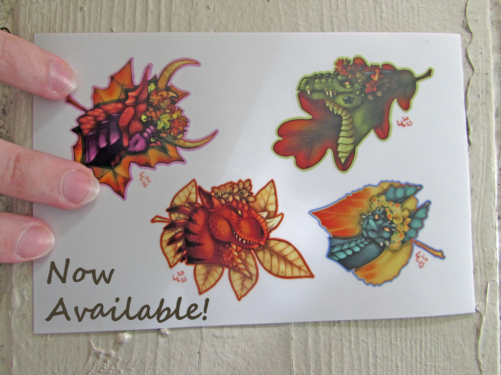 Featured image: Fall Dragons: Now in Stock