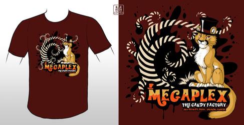 Megaplex 2014 con t-shirt