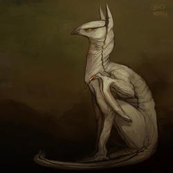 Sphynx Cat Gryphon 1
